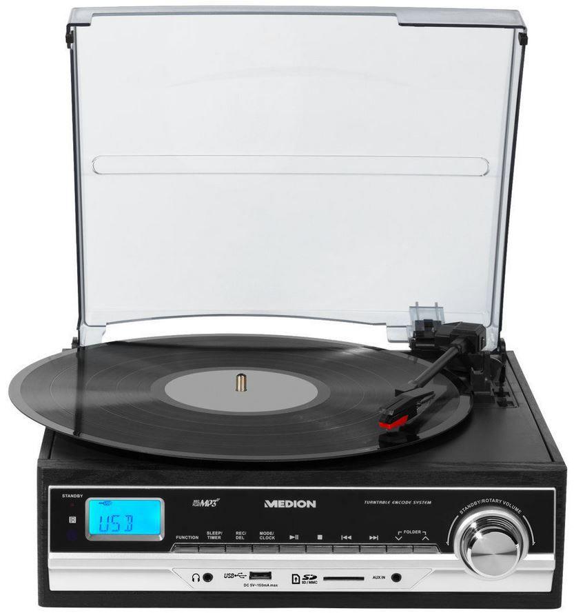 MEDION E69216 Schallplatten  und Kassettendigitalisierer USB für 44,99€
