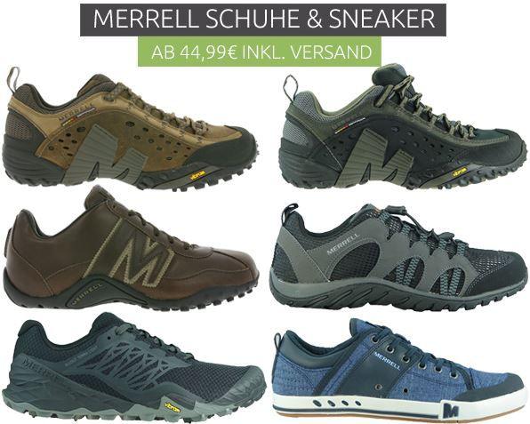 Merrell Sneaker Merrell Outdoor Schuhe & Sneaker für Damen und Herren ab 44,99€