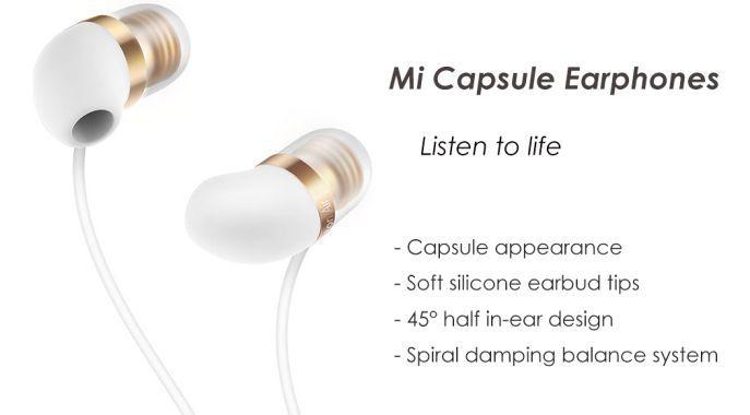 Xiaomi Mi Capsule In Ear Kopfhörer mit Mikrofon für 8,98€