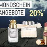20 % auf Artikel aus der Parfümerie sowie auf Beautyprodukte – Galeria Kaufhof Mondschein Angebote