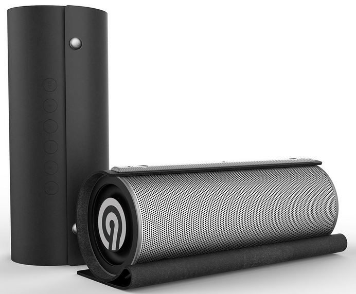 NINETEC Impulse Bluetooth Speaker mit Leder Abdeckung für 49,99€ (statt 60€)