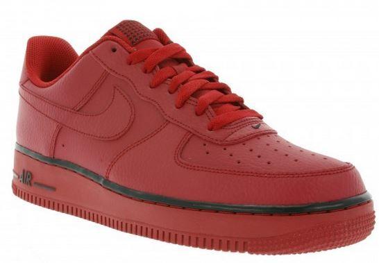 Nike Air Force 1   roter Herren Sneaker sattt 60€ für 39,99€