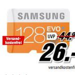 SAMSUNG EVO 128 GB microSD für 26€ – Media Markt Speicher Tiefpreisspätschicht