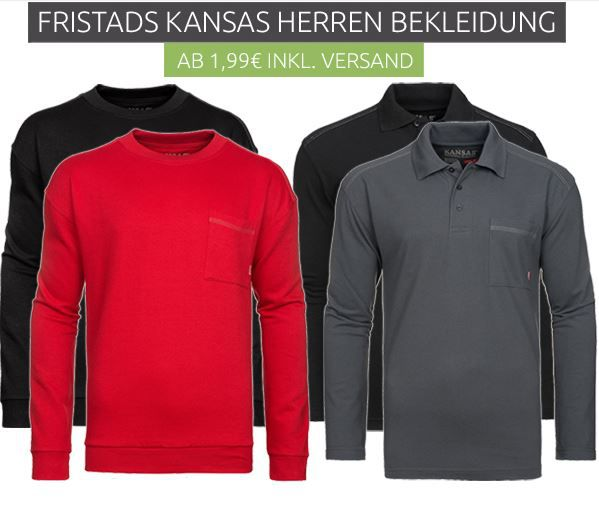 FRISTADS KANSAS   Herren Poloshirts & Pullover Sale ab 1,99€