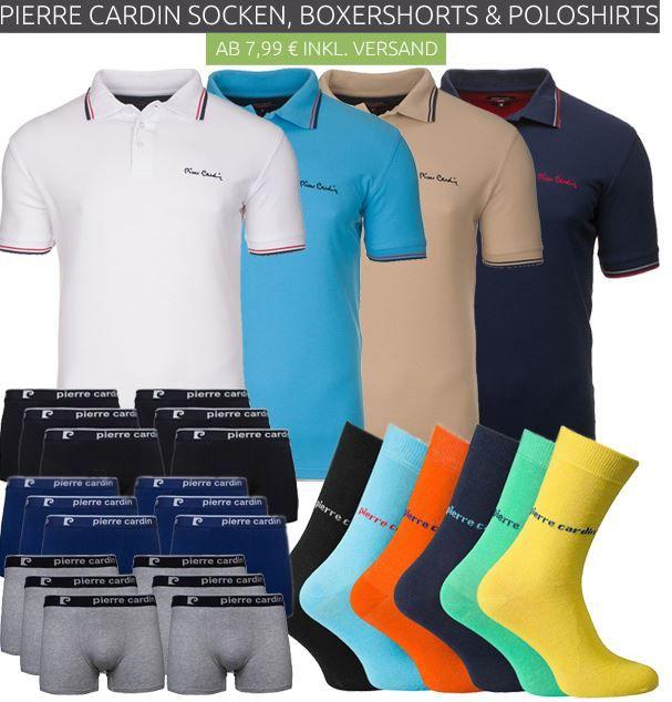 PC Sale Pierre Cardin Ausverkauf bei Outlet46   z.B. Doppelpack Herren Polo Shirts für 19,46€