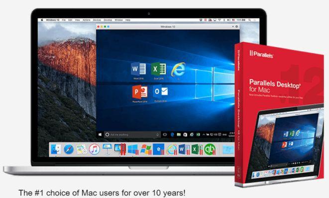 Parallels Desktop 12 für Mac kostenlos