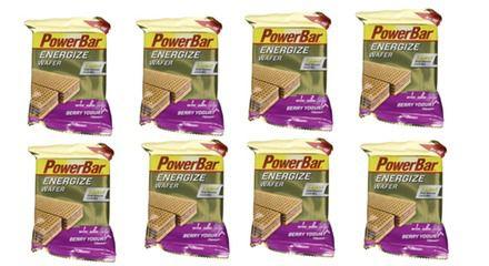 PowerBar Energize Wafer Box  Powerbar Energize Wafer Bar (12x40g) für 8,99€ (statt 18€)   MHD 31.10.2016