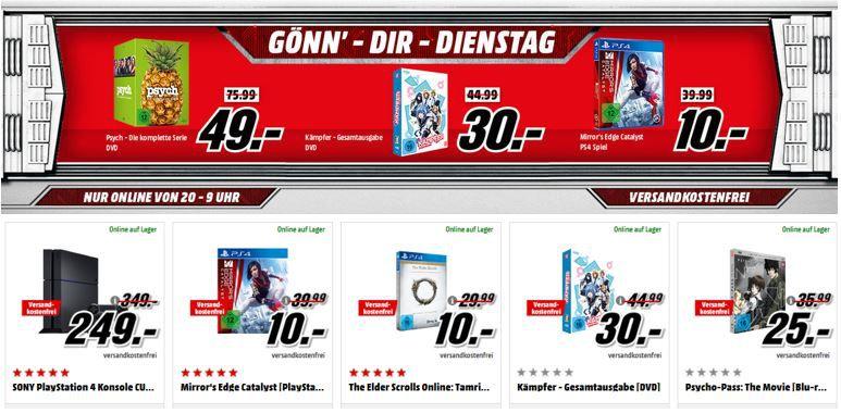 Psych die komplette Serie Die Wunder der Entstehung unserer Erde [3D Blu ray + DVD] für nur 22€ im Media Markt Dienstag Sale