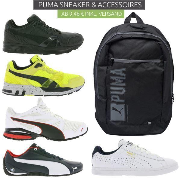 Puma Sneaker Sale Puma Outlet46 Sale   mit Sneaker und Accessoires ab 7,99€