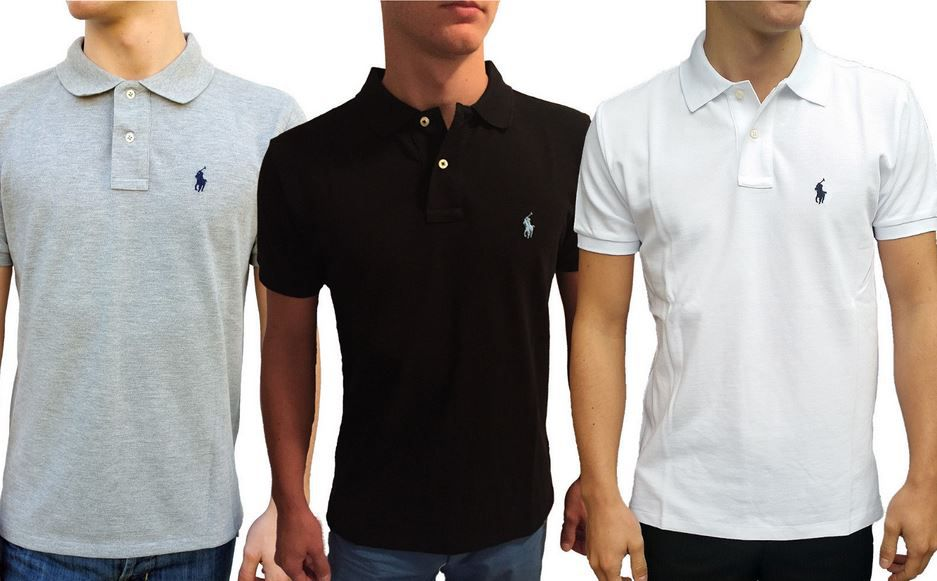 Ralph Lauren Polo Herren Shirt custom Fit für je 33,90€