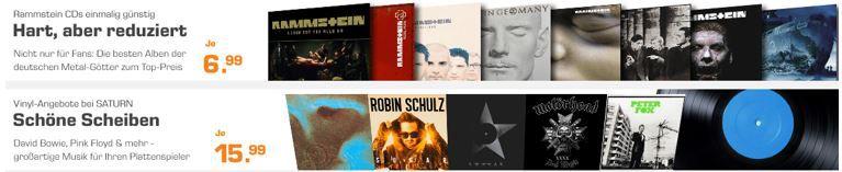 Rammstein und Co Saturn Games, Film & Musik Weekend Deals   z.B. Xbox One Controller Copper Shadow  SE für 37€