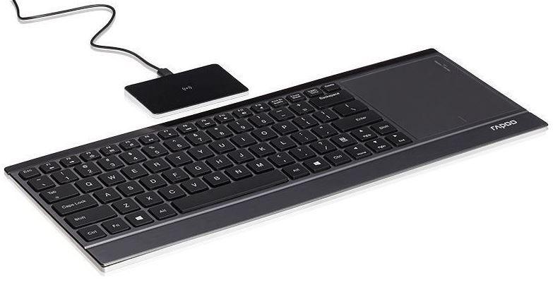 Rapoo E9090P   beleuchtete Wireless Touchpad Tastatur für 29,99€ (statt 73€)