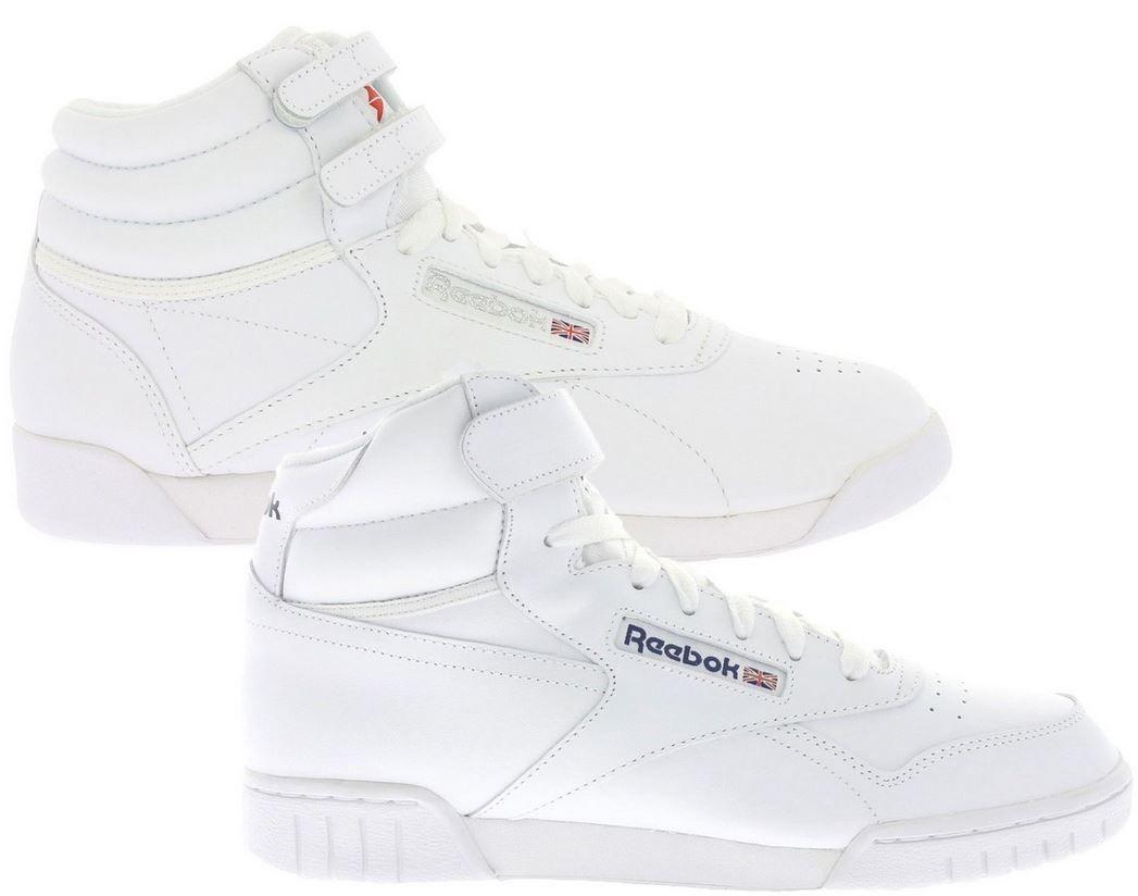Reebok Ex O Fit Hi Damen und Herren Sneaker Reebok Ex O Fit Classic High Top Sneaker für 19,99€ (statt 43€)