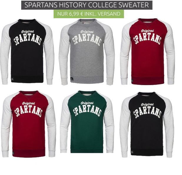 Spartans History Pullover & Sweater Sale ab 6,99€