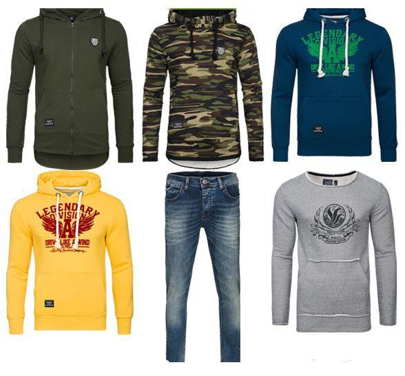 Spartianer Spartans History Ausverkauf bei Outlet46   z.B. Herren Shirts ab 4,99€