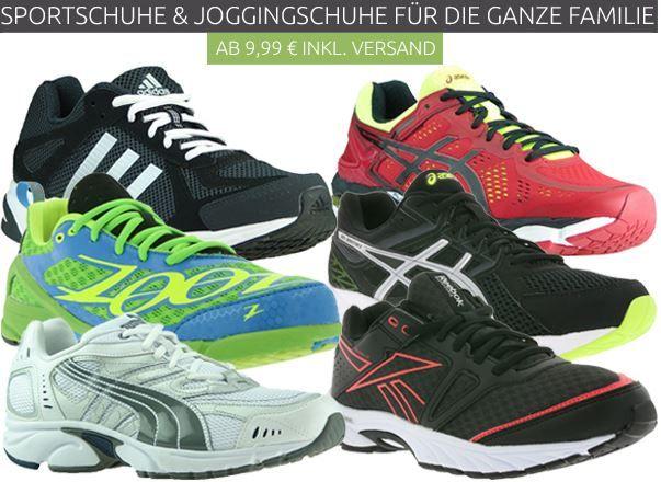 Sport  und Joggingschuhe für die ganze Familie ab 9,46€