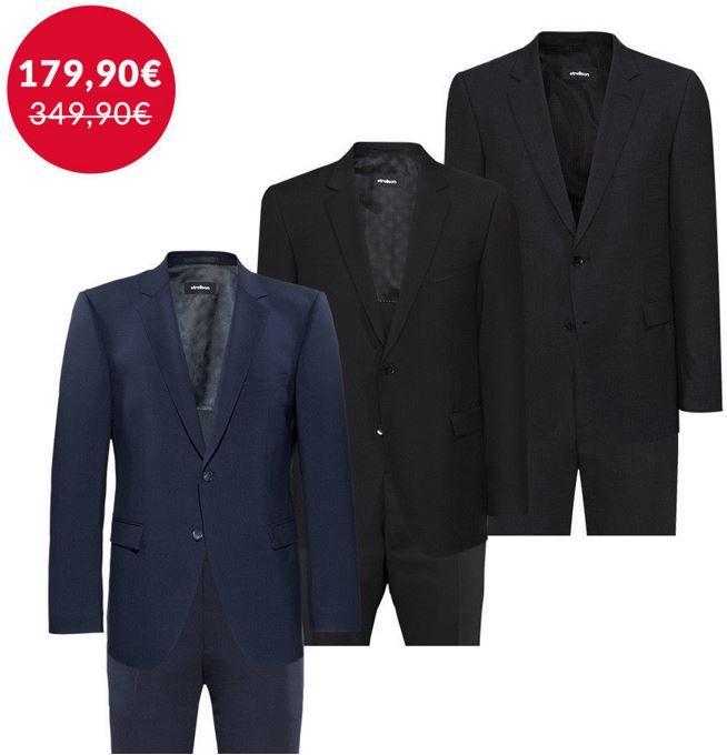 Stellson Herren Anzug Angebot STRELLSON Herren Anzüge in vielen Größen für je 179,90€   Top!