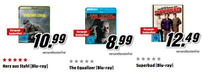 Media Markt: 3 Filme für 18€