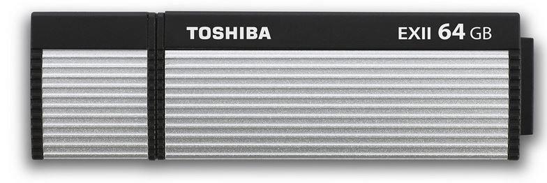 Toshiba Transmermory EXII 64GB Toshiba TransMemory EX II   64GB USB3 Stick statt 43€ für 19,99€