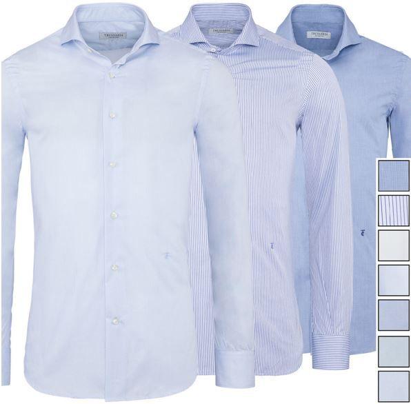 Trussardi Herren Hemd   versch. Farben für je 29,99€
