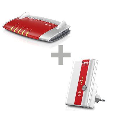 AVM FRITZ!Box 7560 WLAN Router + AVM FRITZ!WLAN Repeater 310 für 189€ (statt 211€)
