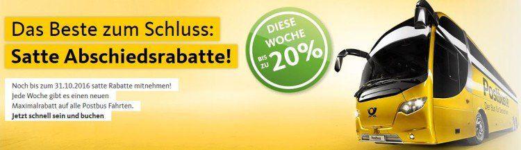Unbenannt12 e1474731635996 Postbus: Fernbus Tickets mit bis zu 20% Rabatt