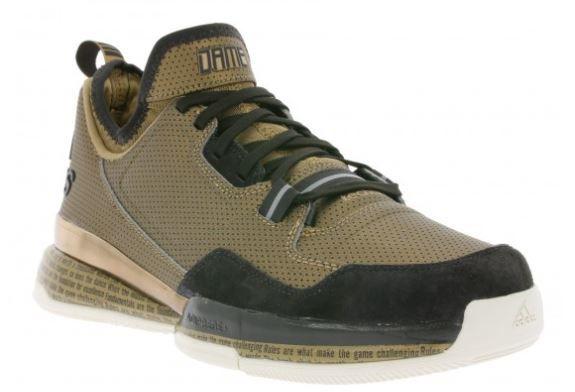 adidas D Lillard BHM Herren Sneaker für 30€ (statt 57€)