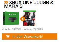 Xbox One 500GB + Mafia III ab 229€ (statt 279€)
