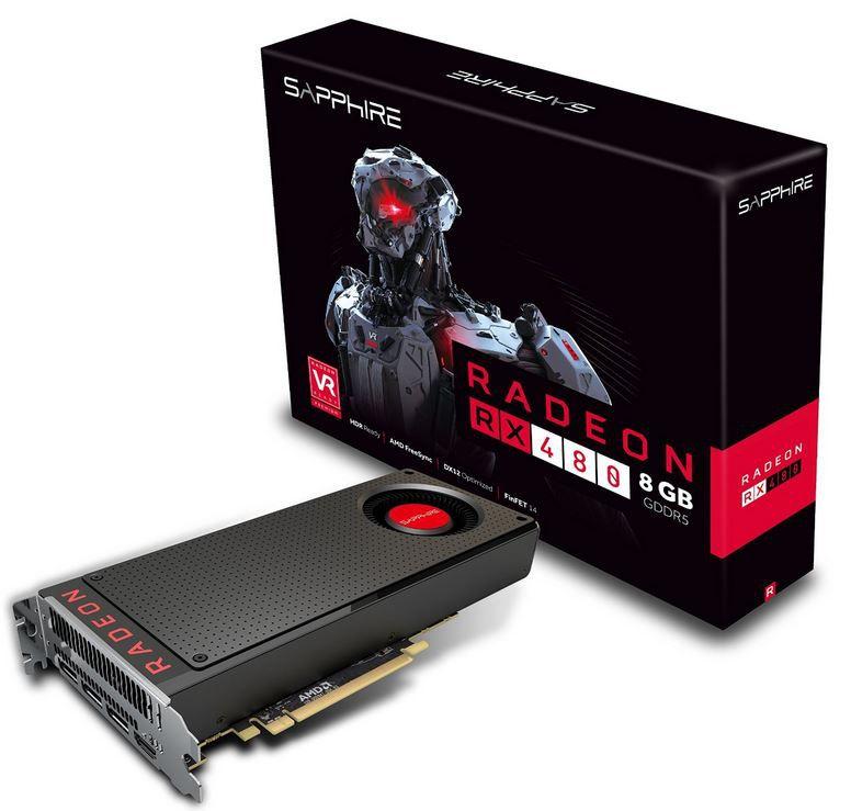 XFX Radeon RX 480 RS   8GB GDDR5 Grafik Karte für 247,45€