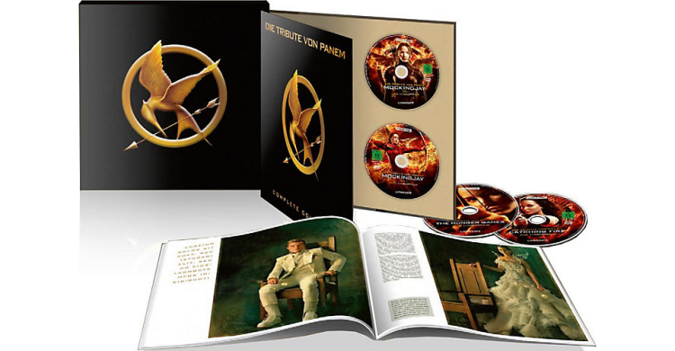 canvas e1473588224928 Die Tribute von Panem Collection (Blu Ray) für ~72€ (statt 94€)