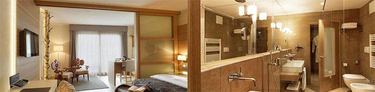 hotel napura zimmer 2 ÜN in Südtirol in Junior Suite inkl. Frühstück, Wellness & Prosecco (+ 2 Kinder mgl.) ab 136€ p.P.