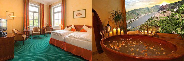 hotel schloss rheinfels zimmer 2 ÜN an der Loreley inkl. Frühstück, Dinner, Wellness & Kleopatrabad (1 Kind bis 11 kostenlos) ab 155€ p.P.