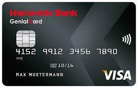 index Knaller! Gebührenfreie Hanseatic GenialCard (Visa) + bis zu 75€ geschenkt + bis zu 15% Shopping Cashback