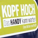 """""""Kopf hoch""""-Auto-Aufkleber umsonst"""