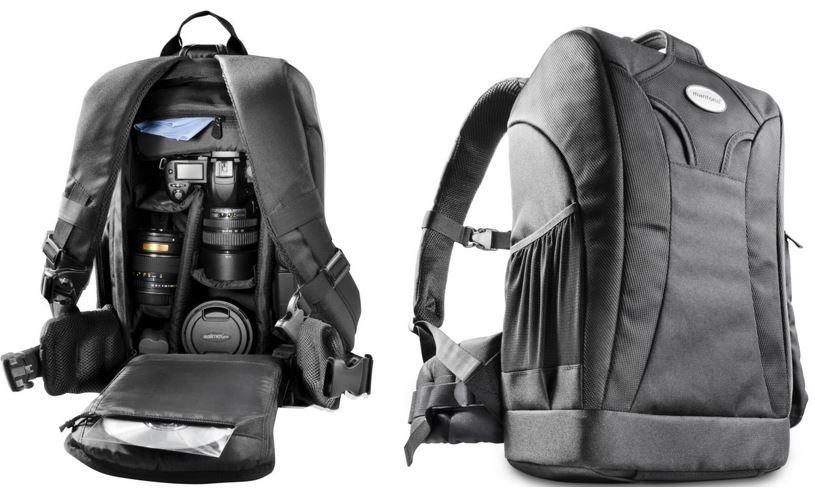 mantona 17947 Trekking DSLR u. Sytemkamera Fotorucksack mantona Trekking DSLR u. Systemkamera Fotorucksack für 39,90€ (statt 58€)