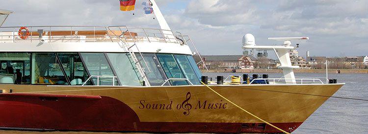 ms sound of music schiff 4 ÜN auf dem Rhein als Silvesterkreuzfahrt inkl. Vollpension & Silvesterdinner ab 599€