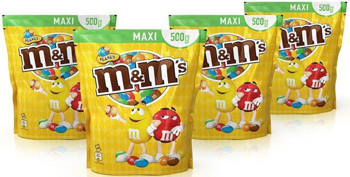 M&Ms Peanut   2kg (4 x 500g) Beutel ab 12,83€