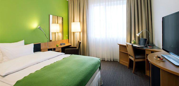nh hotel zimmer 1 ÜN in München inkl. Frühstück, Wellness & Eintritt in FC Bayern Erlebniswelt (1 Kind bis 12 kostenlos) ab 99€ p.P.