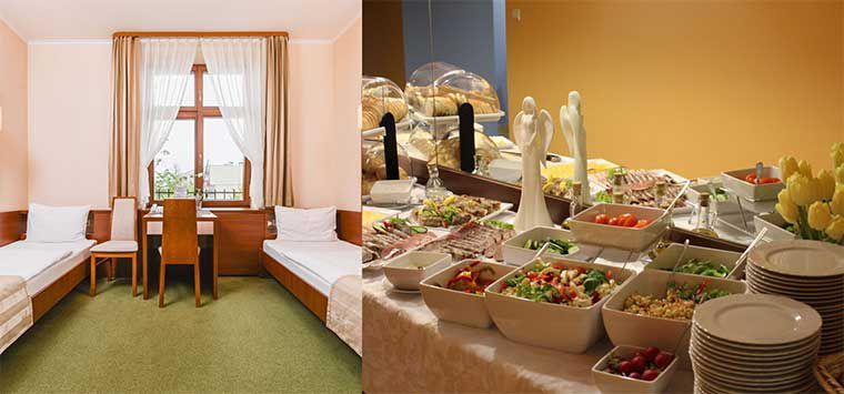 ÜN in Krakau in 3* Hotel mit Frühstück für 20,31€ p.P.