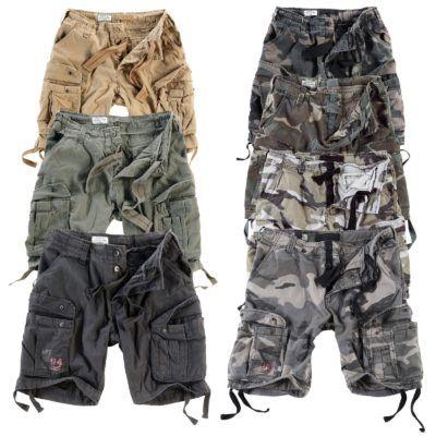 SURPLUS Airborne Shorts bis 7XL für je 29,90€ + gratis Camo Stoffgürtel mit Flaschenöffner