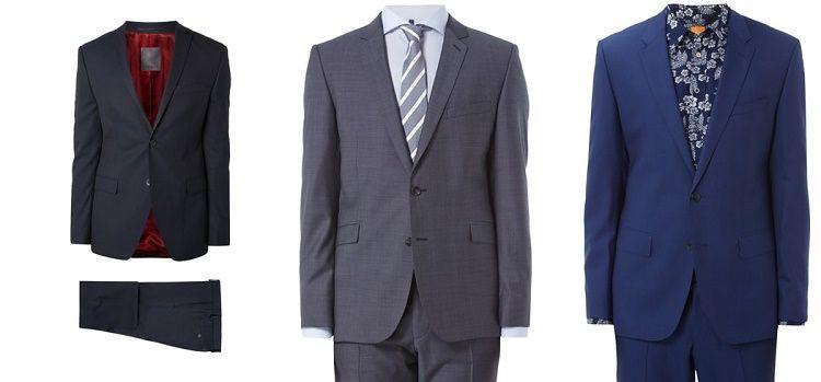 s oliver premium anzug mit feinem webmuster blau 9478360b88db9384x500f Peek & Cloppenburg Sale mit bis zu 85% Rabatt + 20% extra Rabatt auf Herren Businessmode