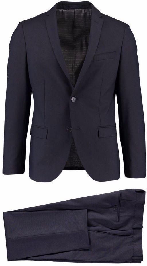 s.Oliver Napoli   Premium Herren Anzug blau Slim Fit für 94,90€ (statt 130€)