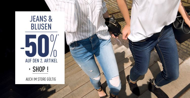 s36 jeanschemisier de largefull e1472978047815 Rabattaktionen bei Pimkie   20% Rabatt beim Kauf von 3 Artikeln / 50% auf das zweite Teil bei Jeans & Blusen