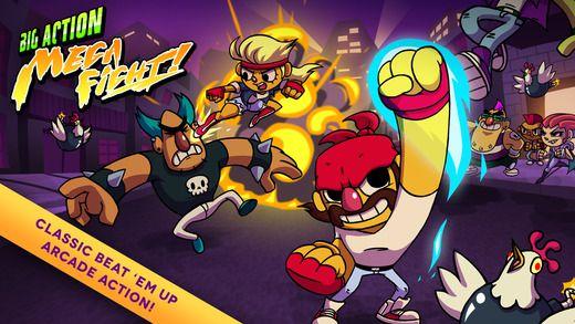 Big Action Mega Fight (iOS) gratis!