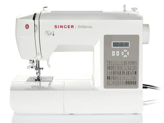 SINGER Elektronik Nähmaschine Brilliance 6180 für 149€ (statt 169€)