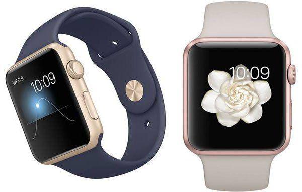 Apple Watch 42mm in Rosegold (Stein) & Mitternachtsblau mit Sportarmband für je 264,95€ (statt 349€)