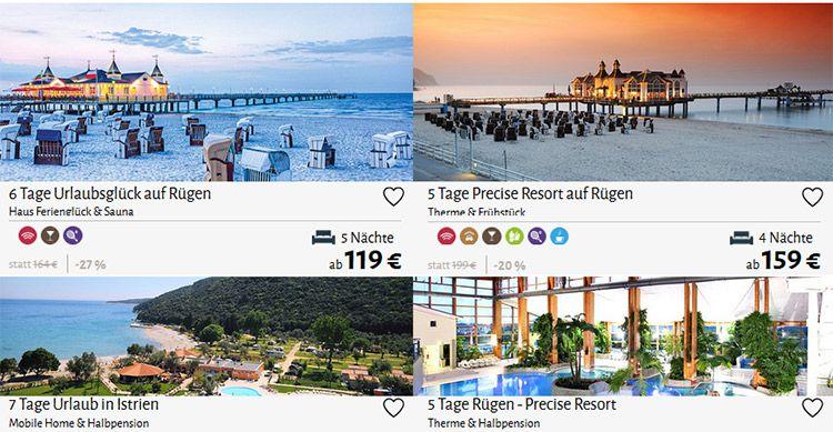 Travador Reisegutschein mit 40€ Rabatt für Reisen ab 4 ÜN
