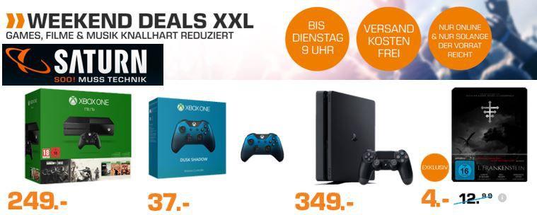 weeknd deals Saturn Games, Film & Musik Weekend Deals   z.B. Xbox One Controller Copper Shadow  SE für 37€