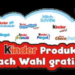 1 Kinder-Produkt nach Wahl gratis – Ferrero Kindertag 2016