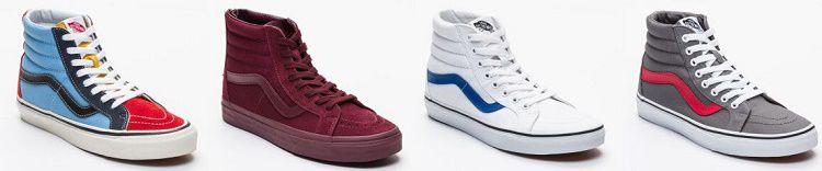 VANS Sale mit bis zu 75% Rabatt   z.B. Sneaker ab 19€